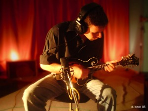michael a. charles with mandolin